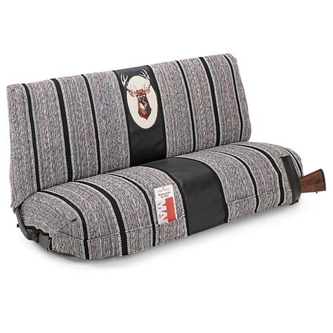 Seat Covers For A Truck Bench Seat Saddle Blanket Bench Seat Cover 154486 Seat Covers At