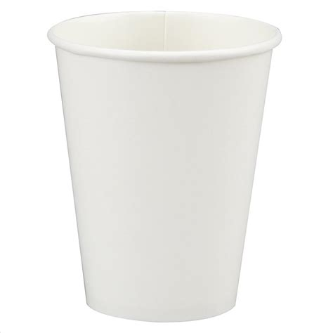 A Paper Cup - white paper cups 12oz