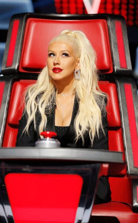 Aguilera Could Be by The Voice Coaches Think Aguilera Might Win
