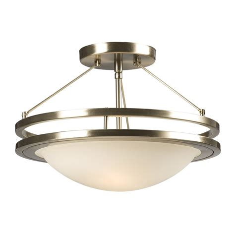Lowes Ceiling Fixtures by Galaxy Lighting 601322bn Avalon Semi Flush Ceiling Light