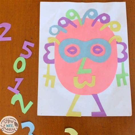 number crafts for 25 best ideas about number crafts on