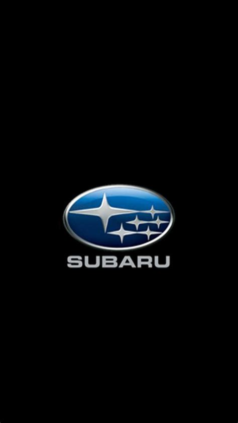 black subaru logo subaru logo iphone wallpapers iphone 5 s 4 s 3g wallpapers