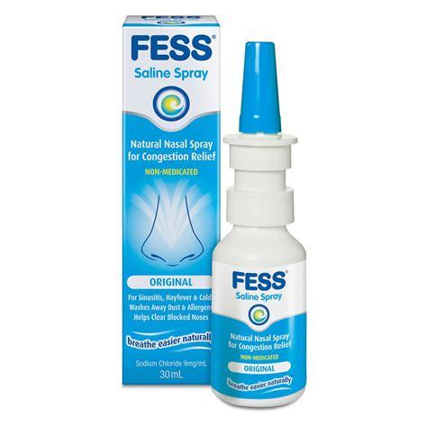 Nasalin Spray buy nasal spray 30 ml by fess priceline