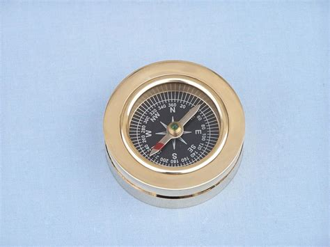 terrasse w co compass buy brass paperweight compass w rosewood box 3 inch