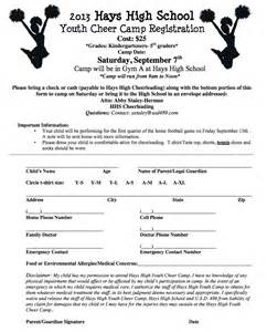 cheer camp set for hays high