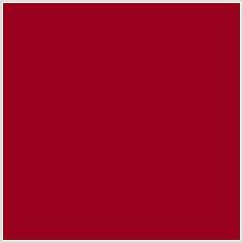 #99001C Hex Color   RGB: 153, 0, 28   CARMINE, RED