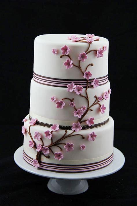cherry blossom wedding cakes theme wedding cake cake