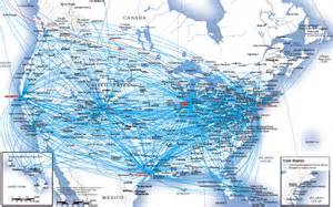 united airlines hubs design challenge 1 airline route maps