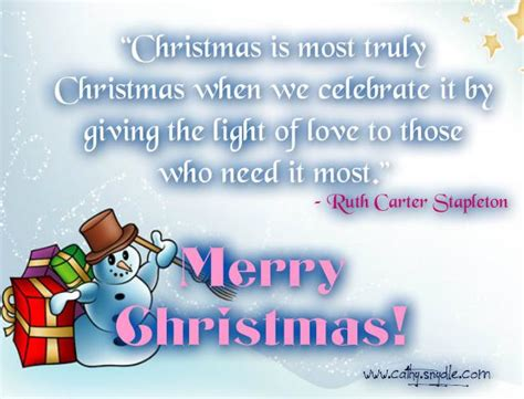 christmas quotes  sayings cathy