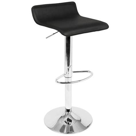 modern contemporary adjustable bar stools modern bar stools andrew black adjustable stool eurway