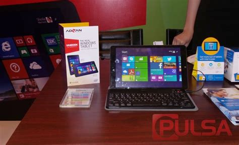 Tablet Vanbook pulsa news vanbook w8 w100 tablet windows 8 1 perdana advan