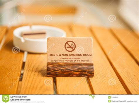 How To Smoke In A Hotel Room by This Is A Non Room Sign Stock Photography Image