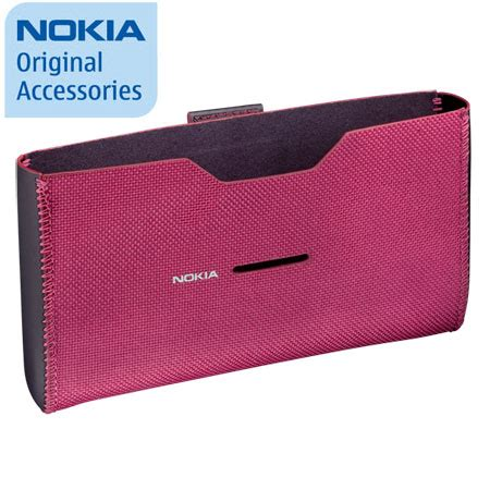Nokia Cp 520 For Nokia E7 Carrying Pouch Casing Sarung Hp nokia carrying cp 520 for nokia e7 pink