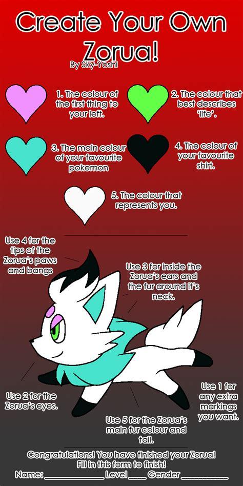 Design Your Own Meme - create your own zorua meme by kaitkat123 on deviantart
