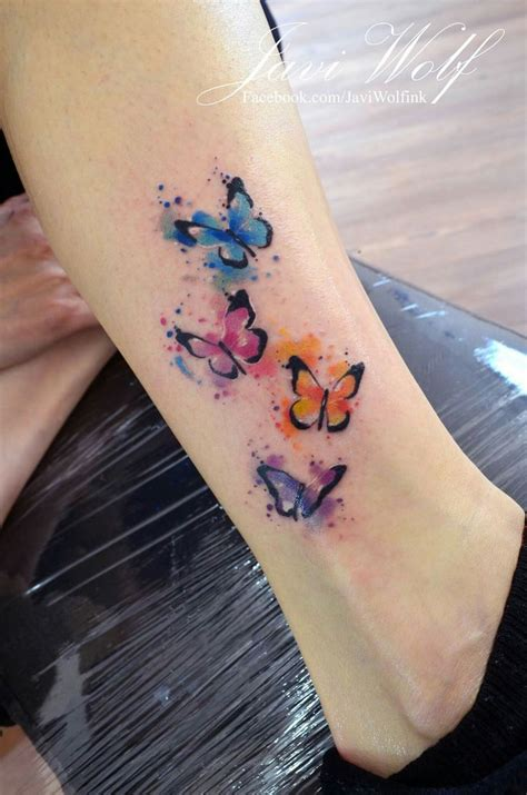 butterfly watercolor tattoo best 25 watercolor butterfly ideas on