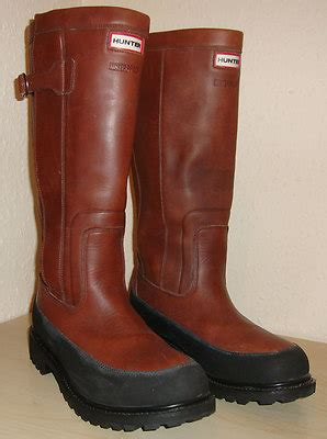 Bench Womens Hoodie Hunter Crown Leather Wellington Boots Size 11 Uk Uber Surf