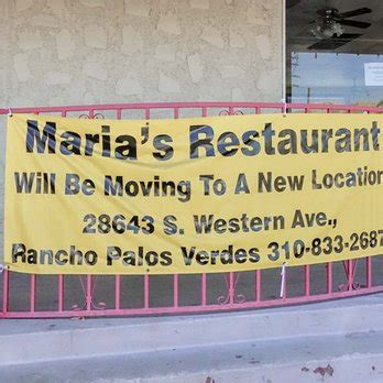 Pch Location - maria s mexican restaurant 89 photos 115 reviews mexican 28643 s western ave