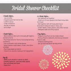 Bridal Shower Check List 10 Best Ideas About Bridal Shower Checklist On