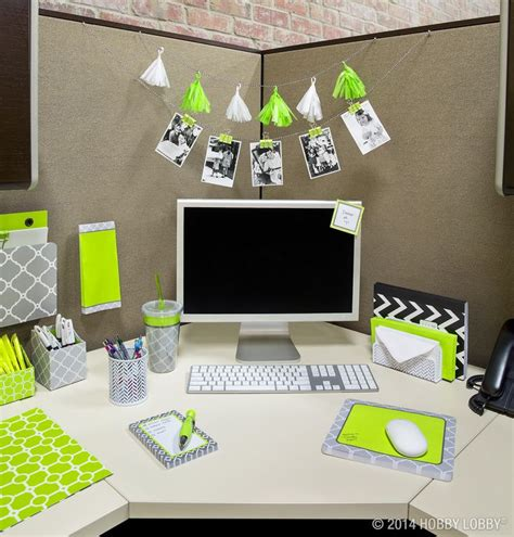 office table decoration items brighten up your cubicle with stylish office accessories