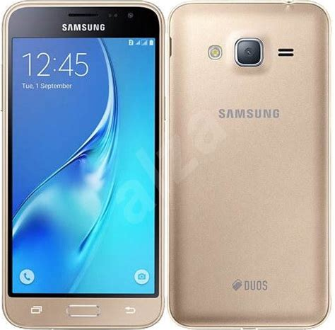 Samsung J3 Duos Samsung Galaxy J3 Duos 2016 Gold Mobile Phone