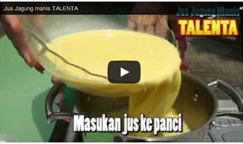 Benih Jagung Talenta membuat jus jagung manis talenta benih pertiwi
