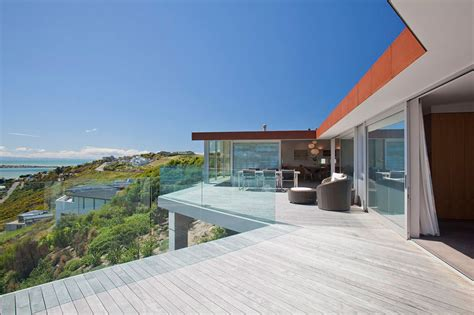 home new zealand architecture design and interiors terrace view redcliffs house christchurch new zealand by map architects