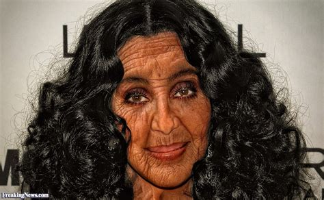 No Make Up Leaves Cher Looking Just Like Ozzy Osbourne by Cher Without Makeup Www Imgkid The Image Kid Has It