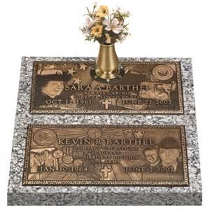 grave markers bronze expression grave marker ii
