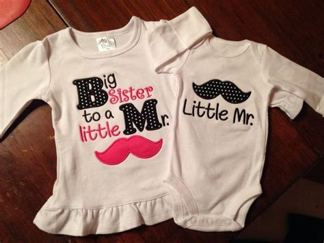 Set Hoody Mustache Cc 1 big to mister and mister mustache appliqued shirt set by theahashop on etsy