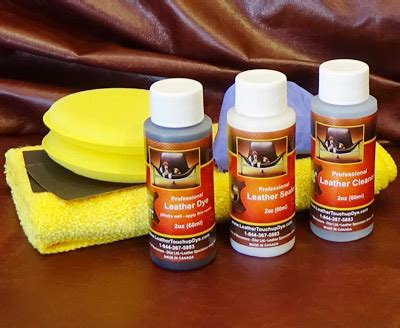 Bonded Leather Repair by Leather Dye Repair Kit Small Leathertouchupdye