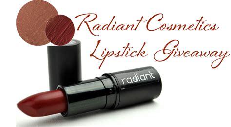 Cosmetic Giveaways - xoxo radiant cosmetics lipstick giveaway