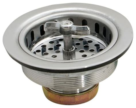 Kitchen Sink Seal Ez Flo Ez Flo 30009 Sink Strainer Spin And Seal Withdie Cast Reviews Houzz