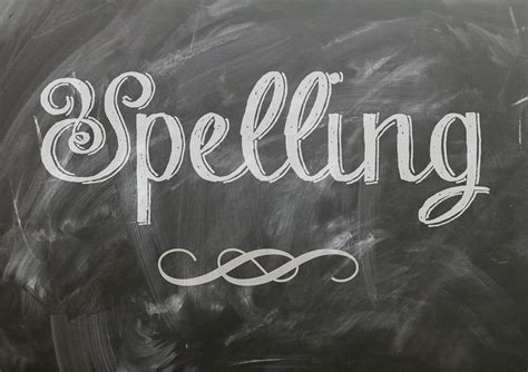 Spelling Of by Spelling Language Blackboard 183 Free Image On Pixabay