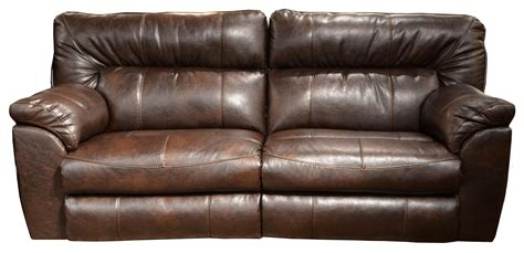 extra wide leather recliner faux leather extra wide reclining sofa by catnapper wolf