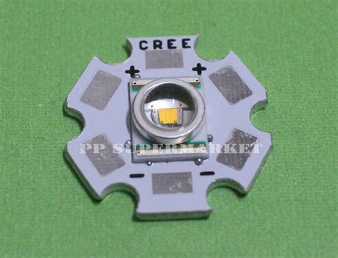 Led Cree Xre Q5 cree xl xr e q5 led warm white chip 300lm 20mm