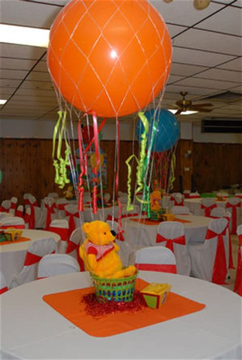 imagenes de winnie pooh con globos centros de mesas