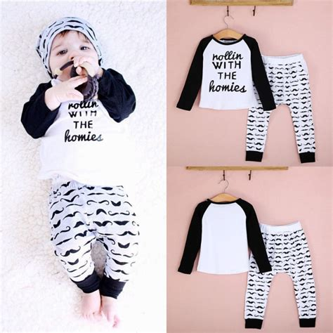 Baby 3in1 2shirt 1pant 2 pc newborn 2 3 4t t shirt set baby toddler boys clothing in clothing sets