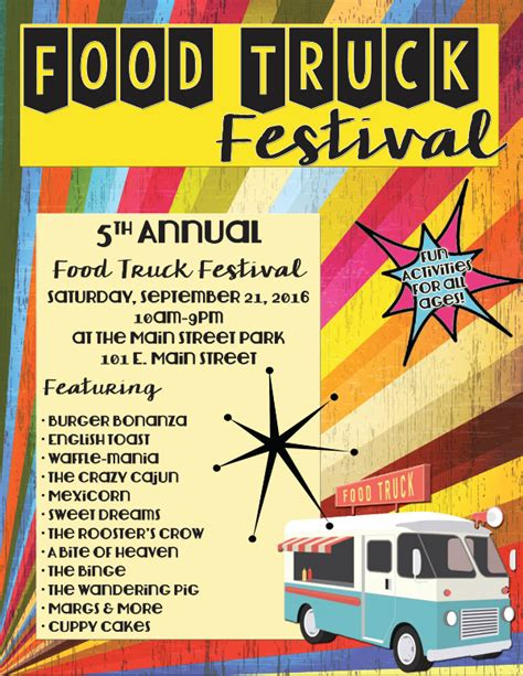 28 Festival Flyer Free Psd Ai Vector Eps Format Download Free Premium Templates Food Truck Flyer Template