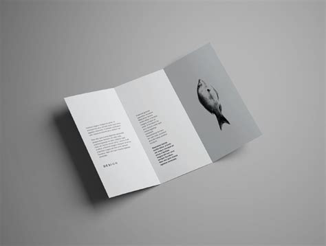 Free Realistic Trifold Brochure Mockup Free Design Resources Brochure Mock Up Template