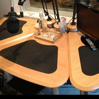 aka design radio studio furniture  voice