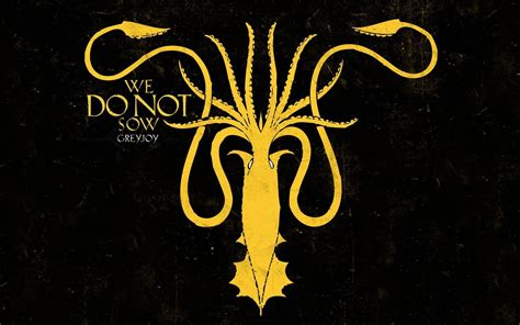 greyjoy wallpaper game of thrones house greyjoy squid wallpaper