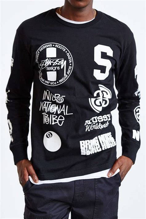 Sleeve T Shirt Stussy 25 best ideas about sleeve shirts on