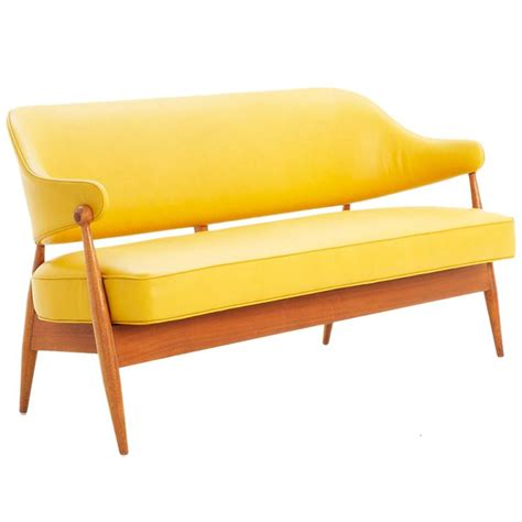 leather settee bench sofa fancy and stylish yellow leather sofa 2017