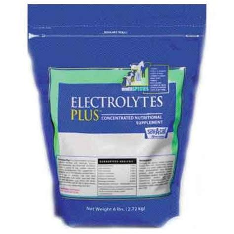 supplement electrolytes electrolytes plus bag livestock supplement gregrobert