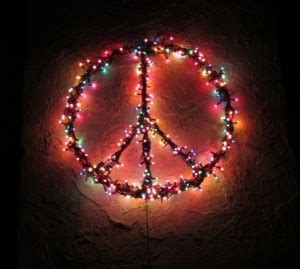 peace sign string lights fundraising idea peace sign fundraiser