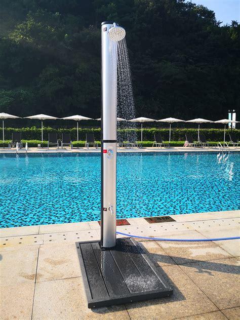 liter solar shower  garden outdoor swimming pool