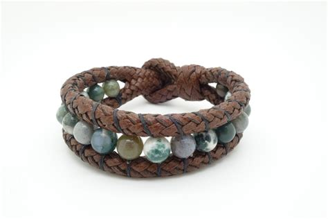 Handmade Leather Bracelets For - handmade leather and bracelets 8 quot