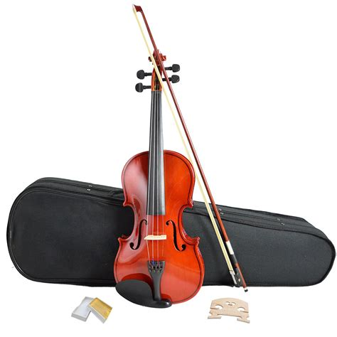 Violine Set by Size 4 4 Acoustic Violin Set With Bow Rosin