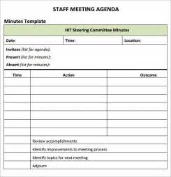 Meeting Agenda Template Excel by 20 Meeting Agenda Templates Word Excel Pdf Formats