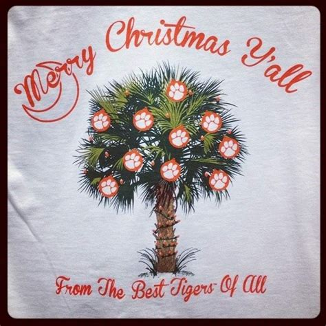clemson christmas my future college pinterest